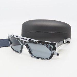 SPR 04V 443/3C2 Prada White/ Black Havana Sunglass
